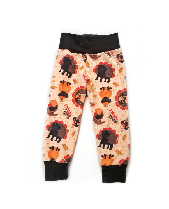 Pugsgiving Joggers- Thanksgiving Style