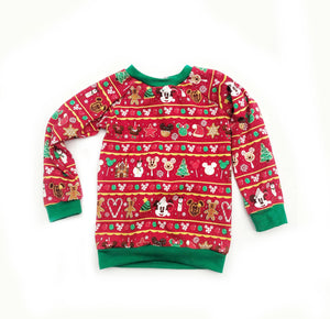 Mouse Sweets Ugly Christmas Sweater