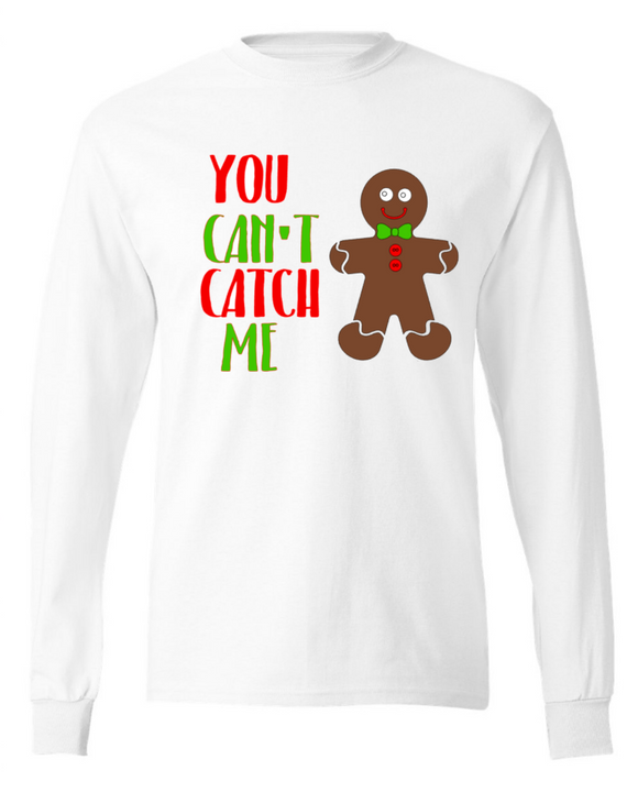 You Can't Catch Me Gingerbread Man