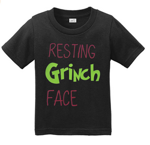 Resting Grinch Face-Suess