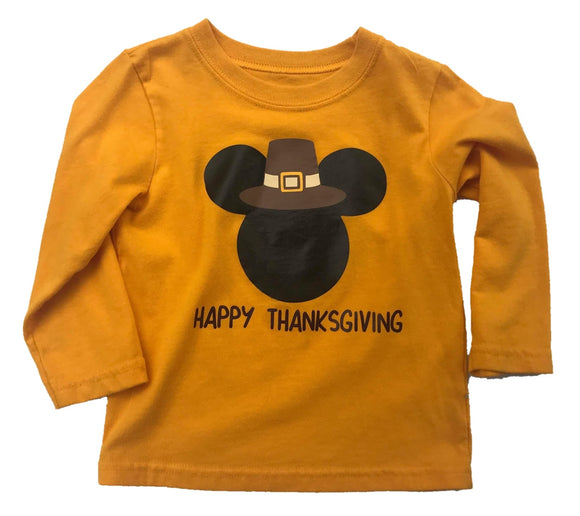 Pilgram Mouse Thanksgiving Tee