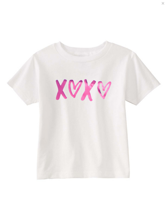 XOXO Girls Valentine's Day T Shirt