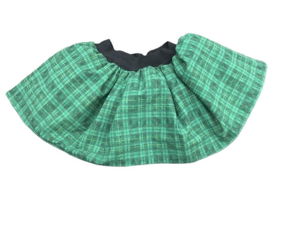 Highland Plaid skirt with tulle - St. Patrick's Day Style