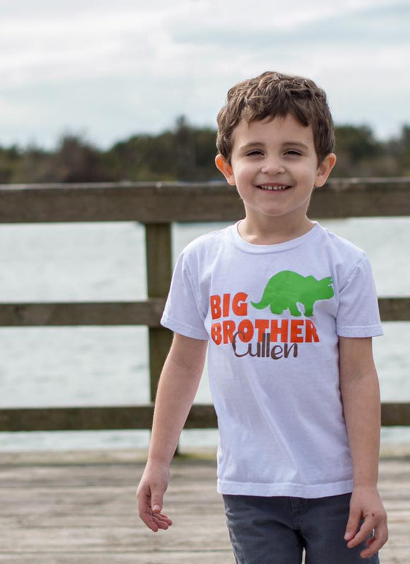 Big Brother Tee- Dinosaur