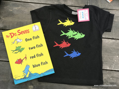 One Fish Two Fish- Suess Inspired Tee