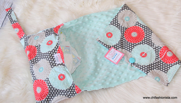 Floral Changing Pads | Baby Shower Gifts | Handmade Baby Presents