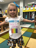 Pre-K Here I Come- First Day of School Shirts