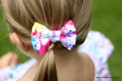 Paint Splatter Bow