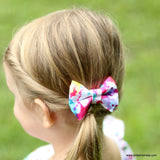 Handcrafted Children's Clothing, Clothing for Children and Parents, Paint Splatter Bow, chi-fashionista