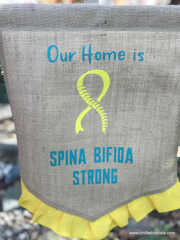 Spina Bifida House Flag