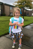 Handcrafted Children's Clothing, Clothing for Children and Parents, Pre-K Here I Come- First Day of School Shirts, chi-fashionista