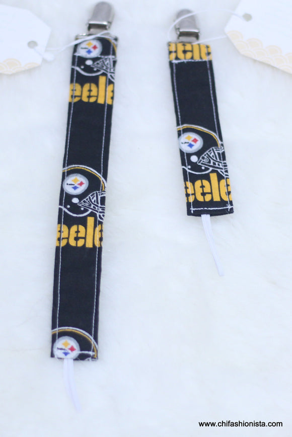 Steelers Pacifier Clip