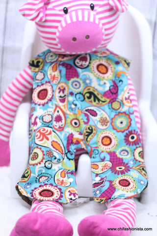 Abstract Print Body Bib