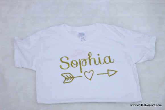 Sophia Name shirt-Youth Small