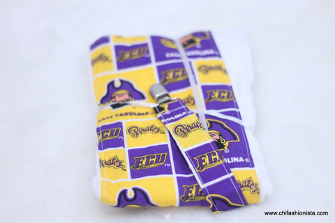 ECU Burp Cloth Set