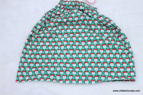 Santa Cotton Skirt