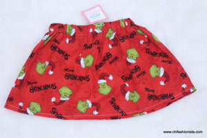 Grinch Skirt-Suess