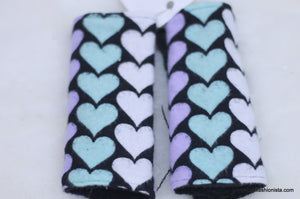 Heart Car Seat Strap Cover