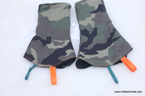 Camouflage Suck Pads