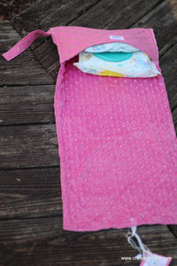 Pink Dimond Changing Pad