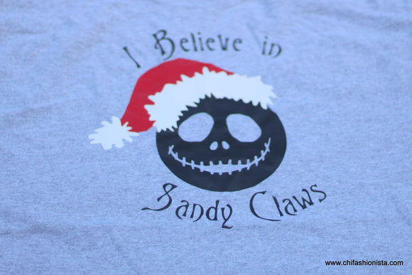 I Believe in Sandy Claws-Adult
