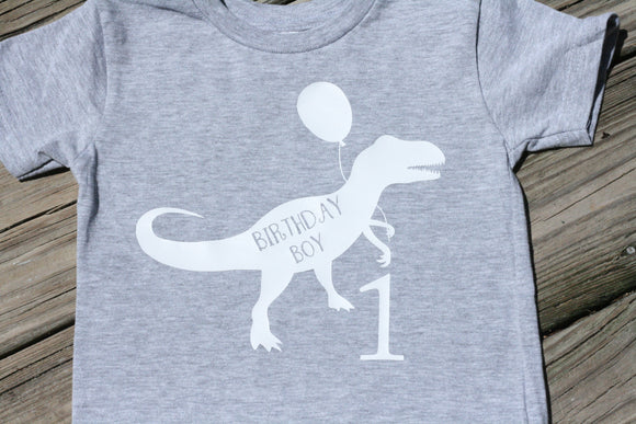 Birthdaysaurus-Dinosaur Birthday Shirt