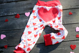 Bum Heart Joggers-Valentine's Day