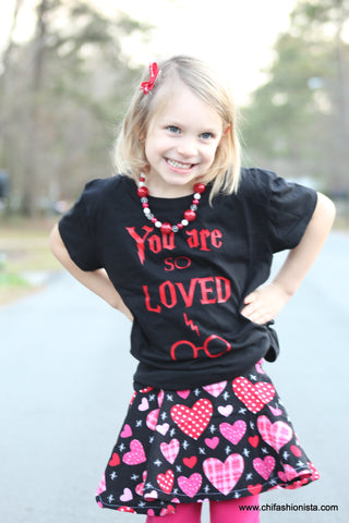 You are So Loved- Valentine's Day Shirt