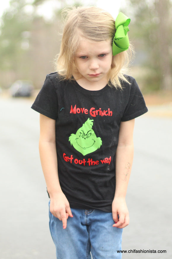 Move Grinch, Get out the way - Suess