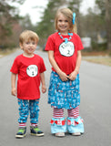 Thing 1 & Thing 2 Tees -Suess Inspired