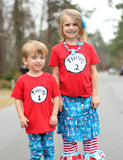 Cat in the Hat Cotton Skirt - Suess