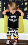 Handcrafted Children's Clothing, Clothing for Children and Parents, Bat Cape, chi-fashionista