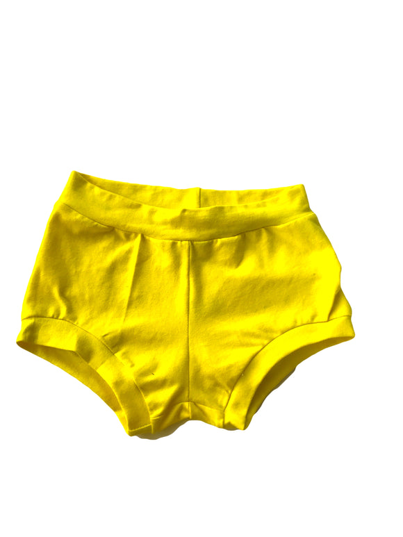 Yellow Bummies or Shorties