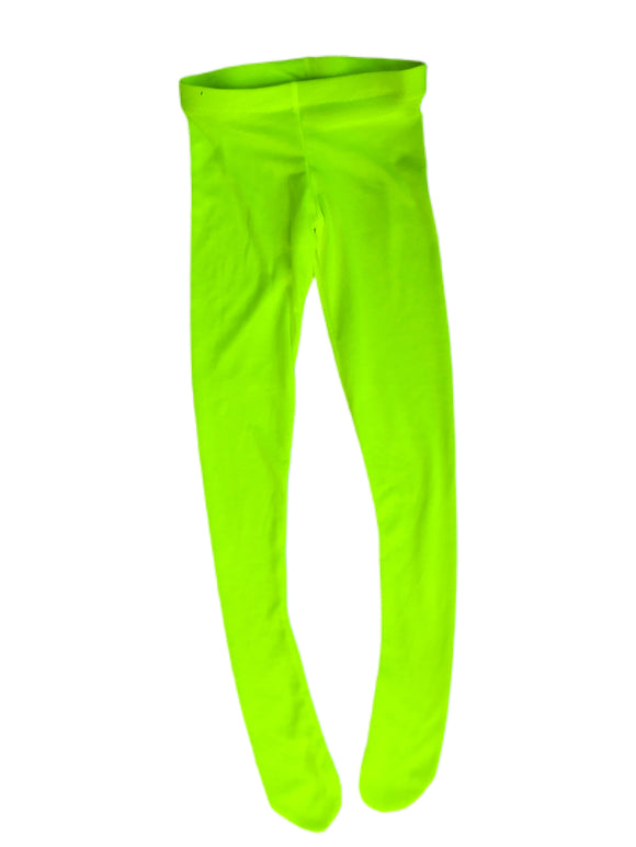 Neon Yellow Tights
