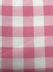 Pink Plaid Boy's Easter Vest
