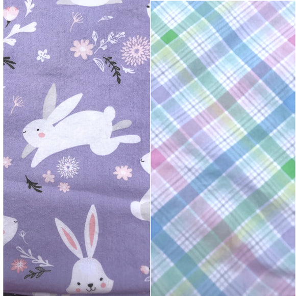 Purple Bunny Easter Isobel Dress