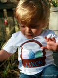 Handcrafted Children's Clothing, Clothing for Children and Parents, Personalized Easter Shirt-Toddler Boy, chi-fashionista