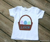 Personalized Easter Shirt-Toddler Boy