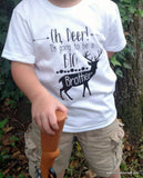 Oh Deer, I'm Going to Be a Big Brother- Pregnancy Announcement Shirt