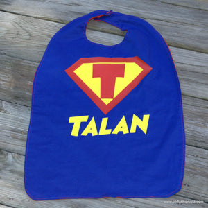 Handcrafted Children's Clothing, Clothing for Children and Parents, Personalized Super Hero Cape, chi-fashionista