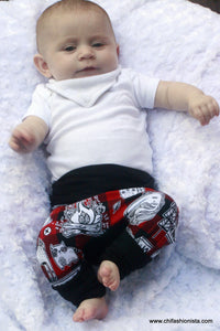 Handcrafted Children's Clothing, Clothing for Children and Parents, Lumberjack-Grow with Me Pants, chi-fashionista