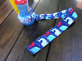 Handcrafted Children's Clothing, Clothing for Children and Parents, Nautical Sippy Cup Leash, chi-fashionista