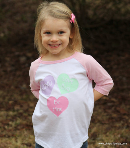 Conversation Hearts- Valentine's Day Shirt