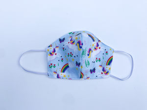 Rainbow Unicorn Cloth Face Mask