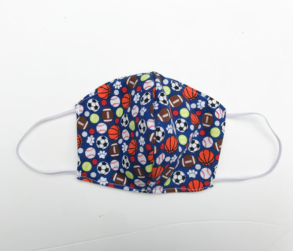 Sports Ball Cloth Face Mask