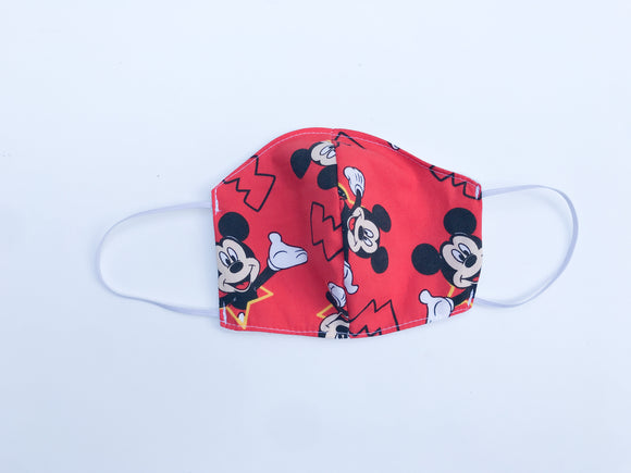 Red Mouse Cloth Face Mask