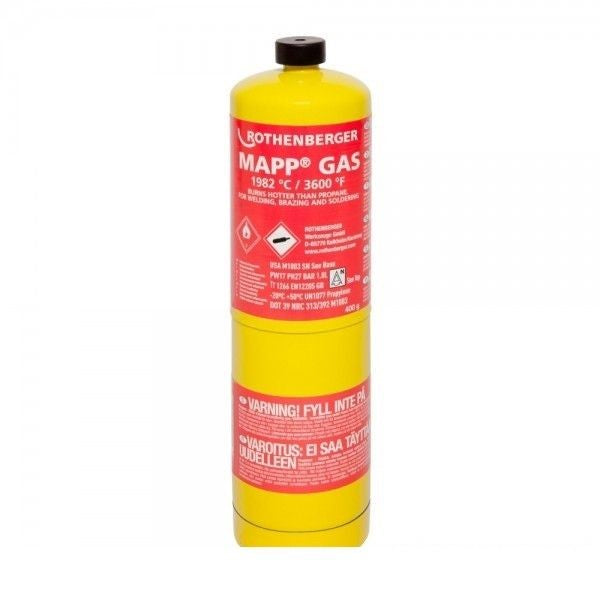 Butelie Rothenberger Mapp Gas 400g - burinstmag