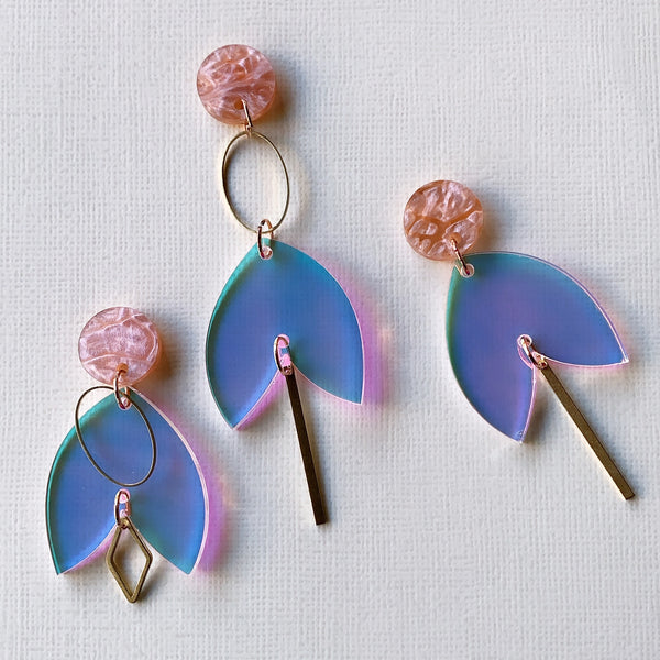 Springtime Grandeur Dangles - CHOOSE DESIGN