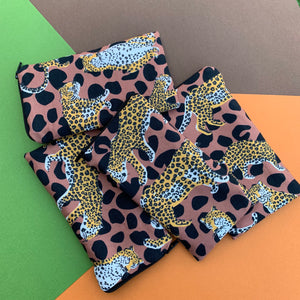 HOT PAPRIKA LEOPARD SUNGLASSES CASE