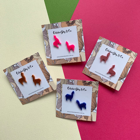 Gllamarous Mini Studs - CHOOSE COLOUR
